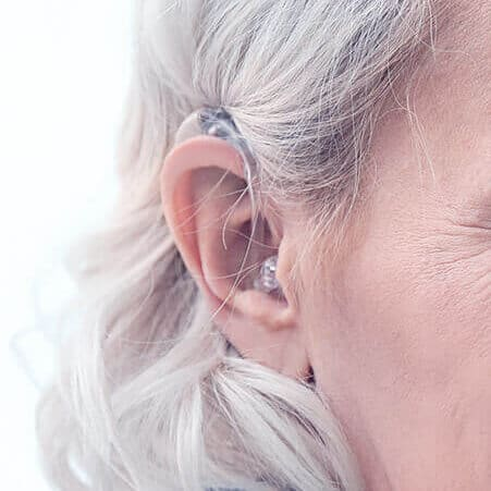 Behind The Ear (BTE) Hearing Aid Style